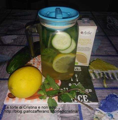 Deionized Water Detox by Detox Water Ricetta Le Torte Di Cristina E Non