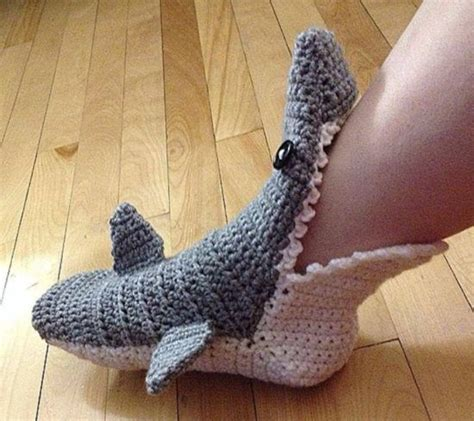 free crochet shark slippers pattern shark crochet pattern free tutorials best ideas