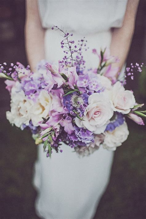 25  best ideas about Purple wedding bouquets on Pinterest