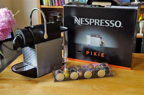Sigmatic Coffee Maker nespresso pixie firstlook rainydaymagazine
