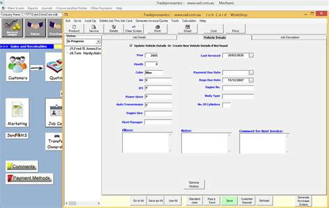 Mechanical Workshop Card Template by Mechanical Workshop Software Motor Mechanic Software