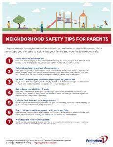 Free Neighborhood Watch Flyer Templates