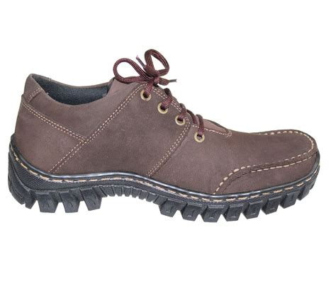 Tragen 02 Casual Boots mens boys suede nubuck leather comfort boots casual lace up hiking walking shoes ebay