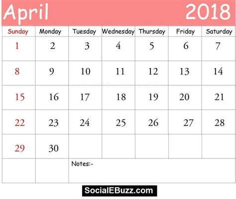 Blank March Calendar For Kindergarten