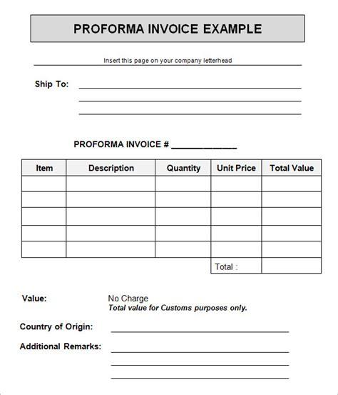 proforma invoice template microsoft excel dhl uk free impressive of