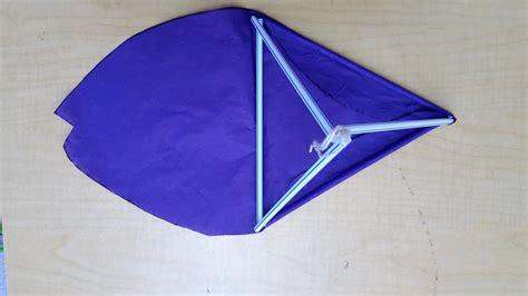 tetrahedron kite template a tetrahedral kite make41
