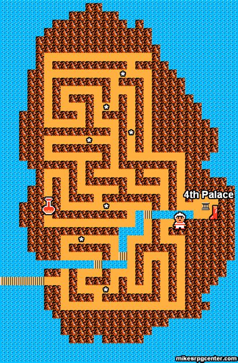 legend of zelda map maze mike s rpg center zelda ii maps island maze