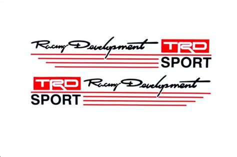 Wrc Racing Devolopment Sticker Mobil racing development trd car mirror stickers decal logo emblem for toyota price review and buy in