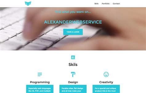 Buy Portfolio Websites For Mba Student by Service Designer Portfolio Home Design Ideas
