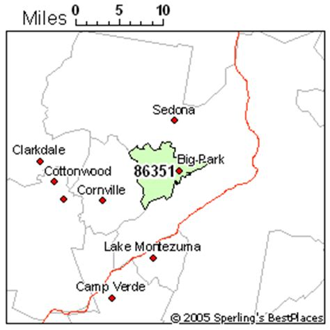 zip code map yavapai county sedona az zip code map zip code map