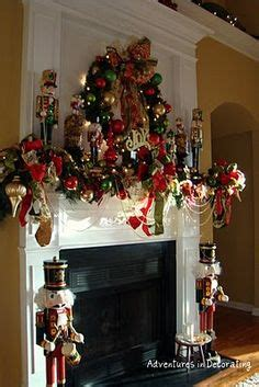image of christmas mantle with nutcracker 1000 images about nutcracker on nutcrackers nutcracker and nutcracker sweet