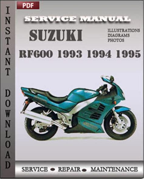 free online car repair manuals download 1994 suzuki sj security system suzuki rf600 1993 1995 free download pdf repair service manual pdf