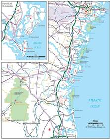 map of coastal coast map