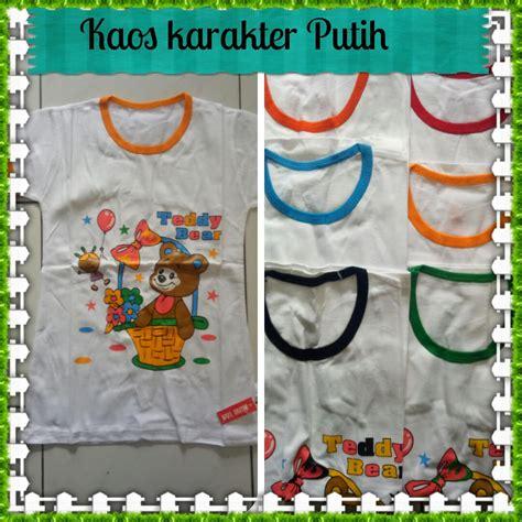 Kaos Anak Murah Bandung grosir kaos karakter anak branded baju3500