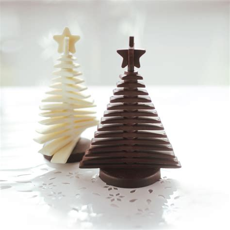 3d christmas tree chocolate mould unique home living
