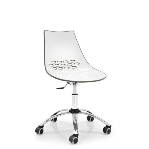 sedie plexiglass calligaris sedia jam cb 623 a ruote di calligaris in tecnopolimero