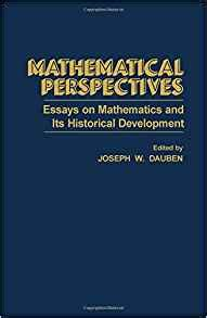 mathematical recreations and essays books mathematical perspectives essays on mathematics and its