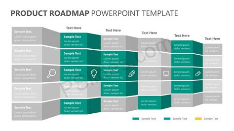 Product Roadmap Powerpoint Template Pslides Product Roadmap Powerpoint Template