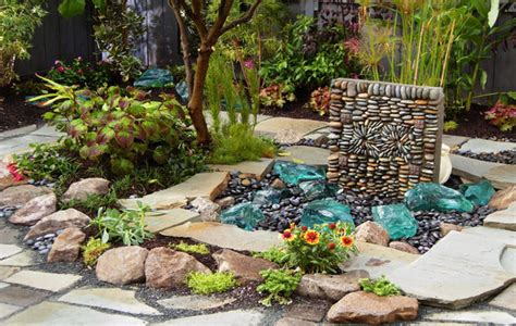 Garden Ideas Categories Stone Garden Ideas Rock Garden Unique Vegetable Gardens
