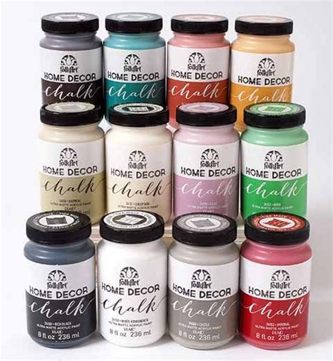 folk colors folkart 174 home decor chalk 12 color set want