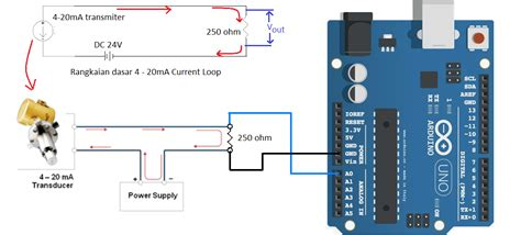 calculate resistor for 4 20ma arduino 4 20m current loop measurement circuits4you