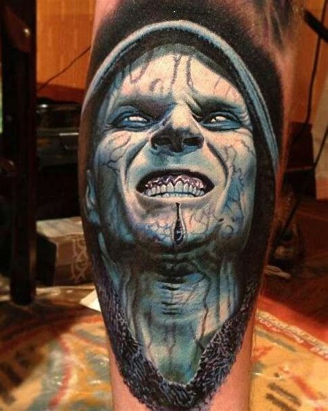 tattoo 3d zombie 17 best images about tattoos on pinterest clown tattoo