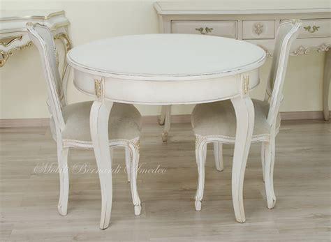 tavoli rotondi bianchi tavoli ovali e rotondi non allungabili tavoli