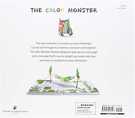 the color monster a pop up book of feelings anna llenas 9781454917298 amazon com books the color monster a pop up book of feelings desertcart