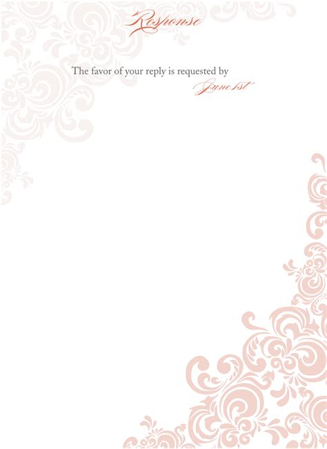 html wedding templates signatures by wedding invitation suite for julie
