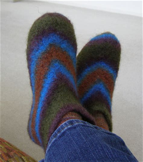 felted wool slipper patterns free ravelry marsh felted slippers pattern by