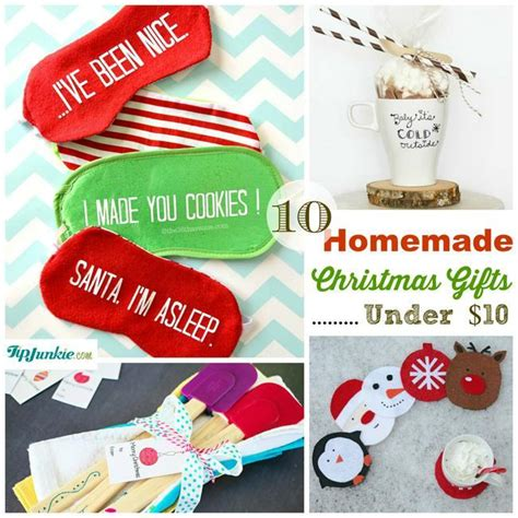 10 homemade christmas gifts under 10 tip junkie
