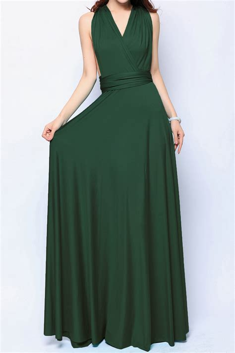 Of The Dresses by Forest Maxi Convertible Bridesmaid Dress Infinity Dresses
