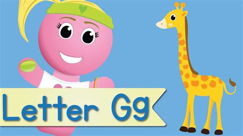 fun l letter g song youtube