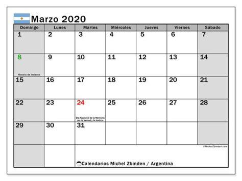 calendario marzo  argentina calendario enero calendario julio  calendario septiembre
