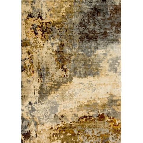 grey and gold area rugs home dynamix carlstadt vintage gray gold 47 in x 71 in