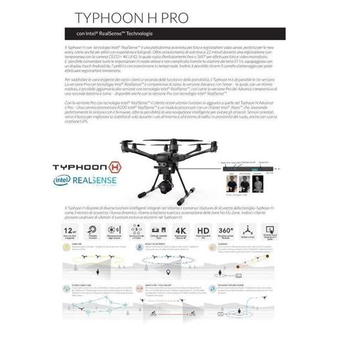 Yuneec Typhoon H Professional With Realsense yuneec quadricottero typhoon h professional realsense