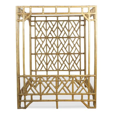 chinese bed frame chinese chippendale bamboo canopy queen size bed frame at