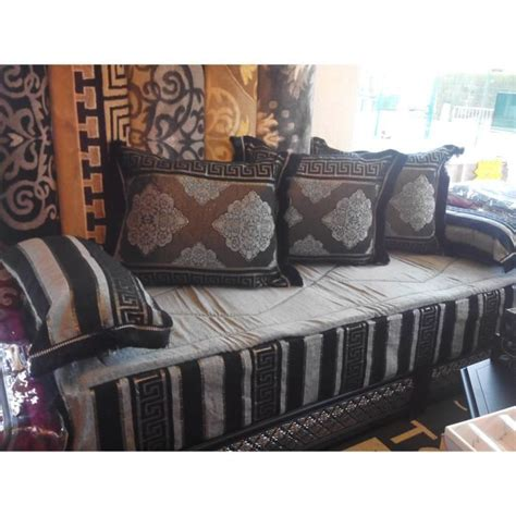 tissu d ameublement pour canapé pas cher kit tissu salon marocain tlamet achat vente housse de