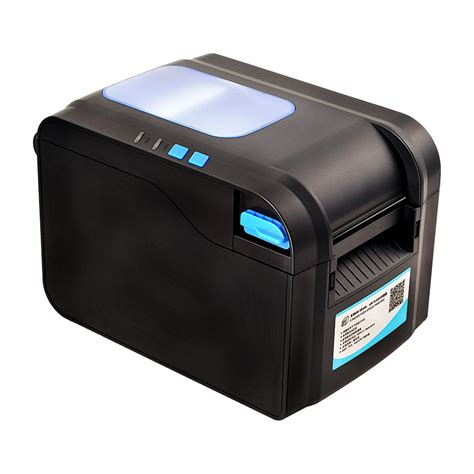 Printer Sticker aliexpress buy xp 370b label barcode printer thermal label printer 20mm to 80mm thermal