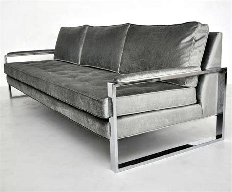 Sofa Frames by Milo Baughman Chrome Frame Sofa At 1stdibs