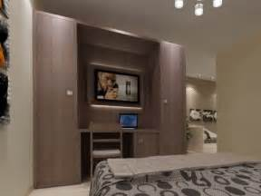 elektronischer kleiderschrank armadio in nobilitato con tv integrata per hotel zeus