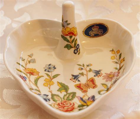 aynsley cottage garden china ring holder aynsley china cottage garden bone china