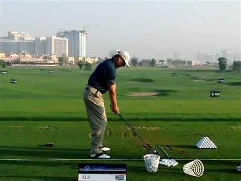 ernie els golf swing ernie els slow motion golf swing wood tl 2011 dfisio