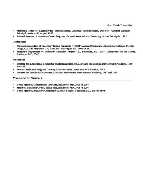 resume templates for educators educator cv template free