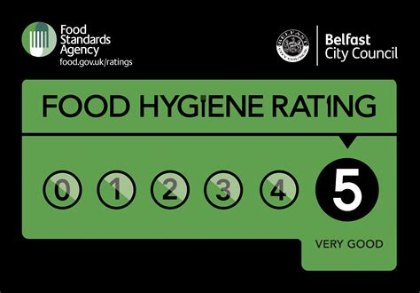 Food Hygiene Rating Stickers food hygiene rating scheme belfast city council