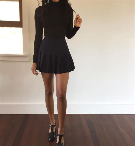 Tennis Skirt List american apparel tennis skirt in black size large wish list 2016