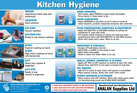 Sanitation Guidelines For The Kitchen by 10 May 2012 14 16 810k