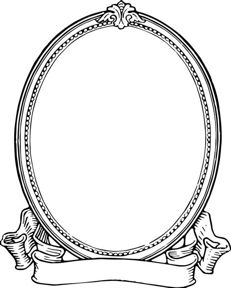 cards transparent template for a 4x6 free clip vintage photo frame oh so nifty vintage