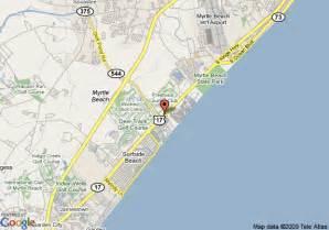 us map myrtle sc map of the myrtle resort myrtle