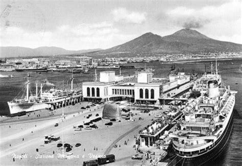 napoli stazione centrale porto quando il porto di napoli era collegato alla stazione